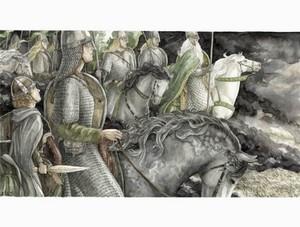 The Ride of the Rohirrim by Anke Eissmann