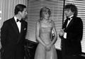 The Royal Couple Talking With Barry Manilow - princess-diana photo