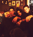 Candice, Michael, Zach and Olga  - the-vampire-diaries-tv-show photo