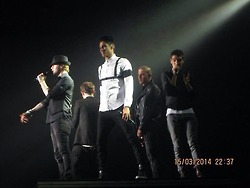 The Wanted Aberdeen (15th March 2014)
