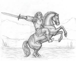 The first king of Rohan bởi fuego-en-la-sangre