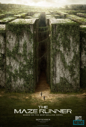 The first official poster of The Maze Runner