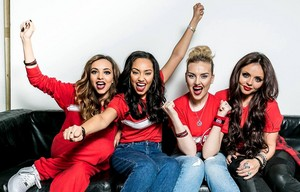 The girls for Sport Relief