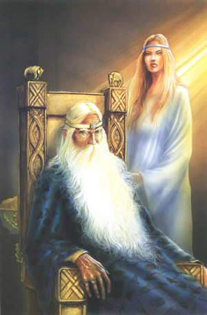 Theoden and Eowyn سے طرف کی Angelo Montanini