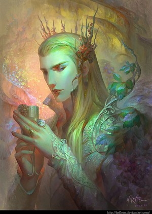 Thranduil the Woodland King 由 hrfleur.deviantart.com