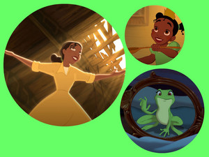 Tiana collage