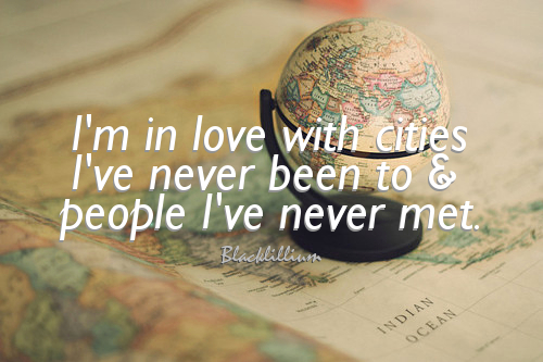 Quotes Wallpaper Entitled Travel The World