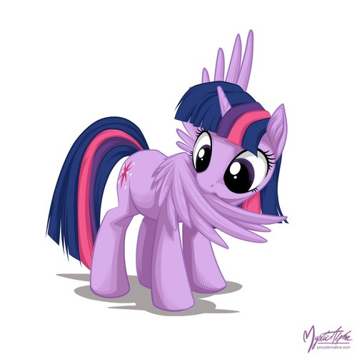 my little pony friendship is magic wallpaper titled Twilight Sparkle