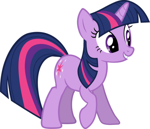 My Little Poney karatasi la kupamba ukuta titled Twilight Sparkle
