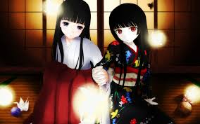 Two mirrors of hell girl