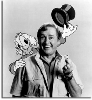 Scrooge McDuck with Alan Young
