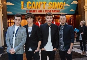 Union j premiere at I can't sing