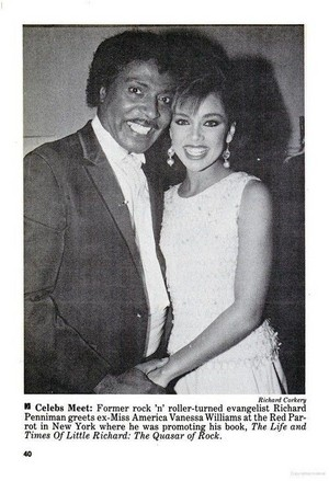 Vanessa Williams And Little Richard