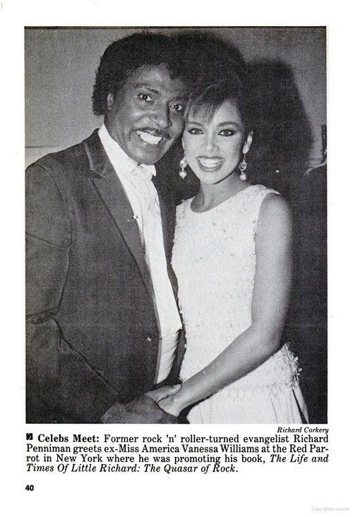 Vanessa Williams And Little Richard