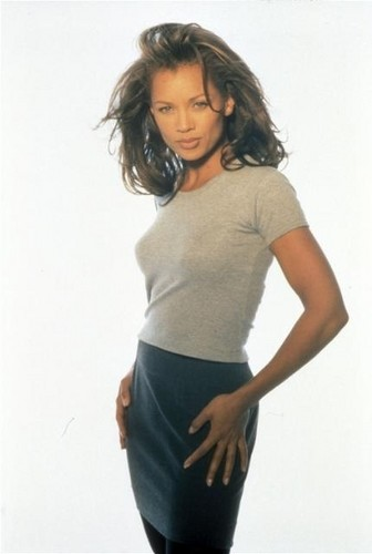 Vanessa Williams achtergrond probably with skin and a portrait titled Vanessa Williams
