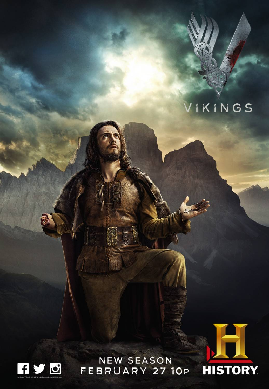 Vikings Season 2 Character Poster - Vikings (TV Series ...