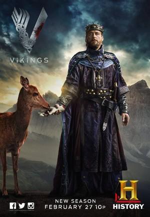 Vikings Season 2 Character Poster