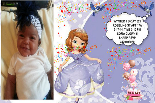 Sofia The First kertas dinding called WYNTER IN WONDERLAND 1 BDAY
