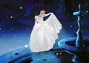 Walt Disney tagahanga Art - Princess Sinderella