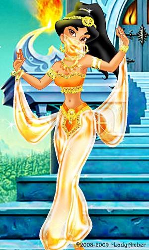 Walt disney fan Art - Princess jazmín