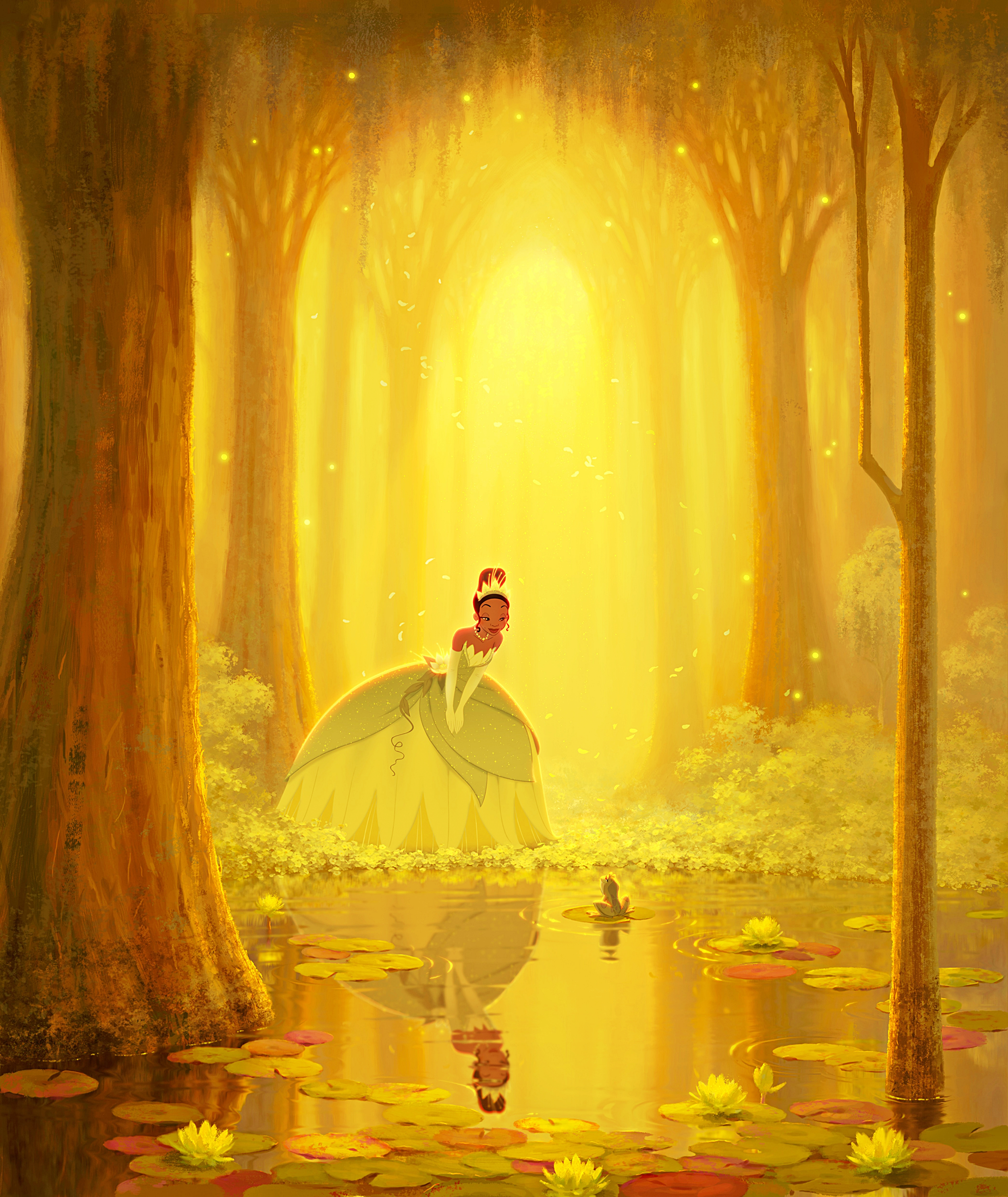 Walt ডিজনি Posters - The Princess and the Frog