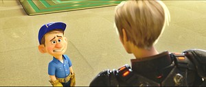 Walt Disney Screencaps - Fix-It Felix, Jr. & Sergeant Tamora Jean Calhoun