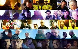 Walt and Jesse Banners 1 - 5