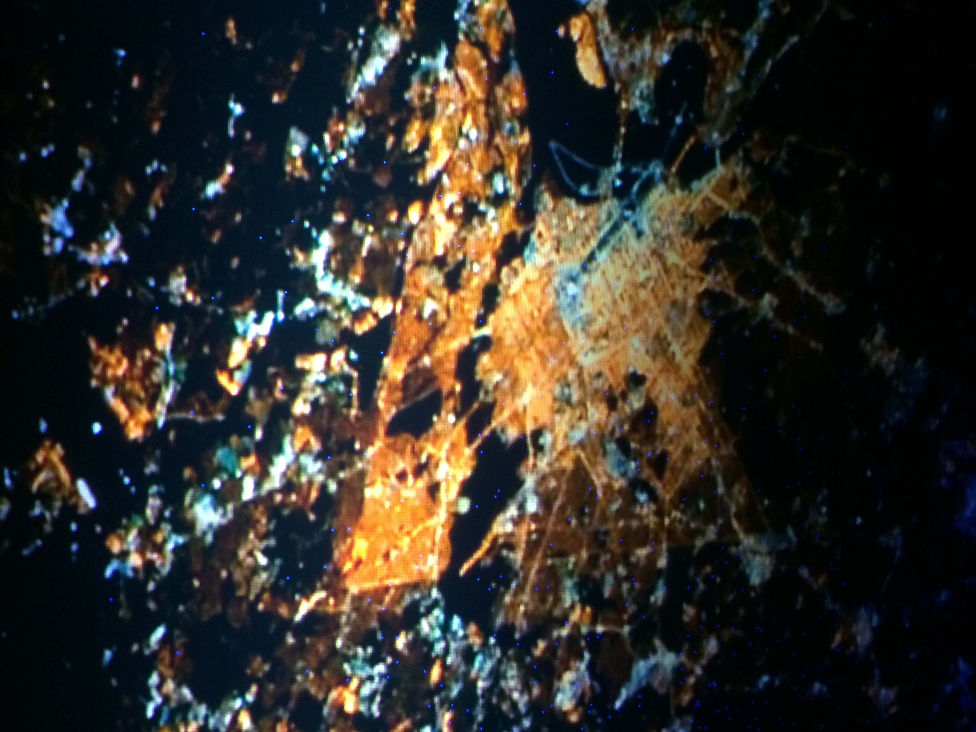 the lost symbol images washington dc from space at night. hd