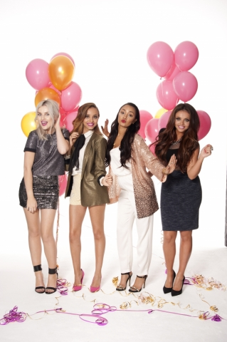 Little Mix wallpaper possibly with a meteorological balloon entitled We Love Pop Magazine Photoshoot 2014