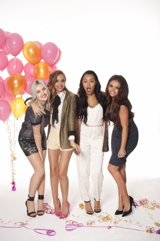 Little Mix karatasi la kupamba ukuta entitled We upendo Pop Magazine Photoshoot 2014