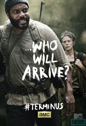 Who Will Arrive? ~ Carol and Tyreese Poster