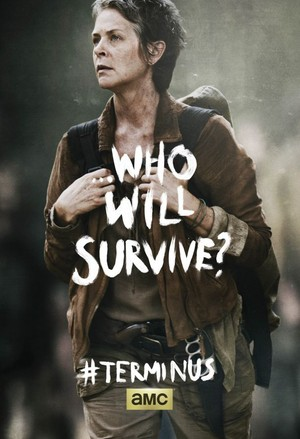 Who Will Survive? ~ Carol Peletier Poster