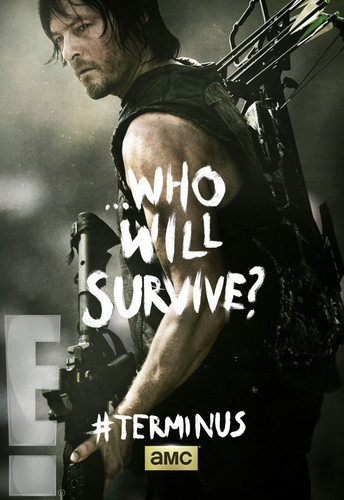 The Walking Dead Hintergrund probably with a konzert called Who Will Survive? ~ Daryl Dixon Poster