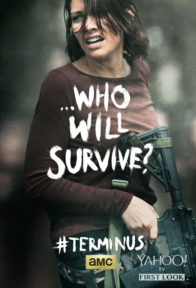 Who Will Survive? ~ Maggie Greene Poster