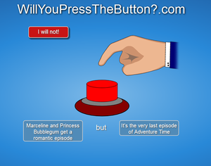 Will आप press the button?