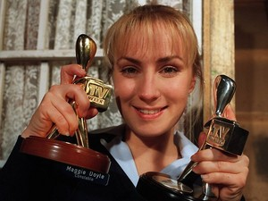 Winning a silver and golden logie 1997