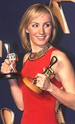 Winning a silver and golden logie 2001