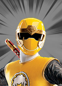 Yellow ninja ranger