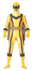 Yellow mystic ranger