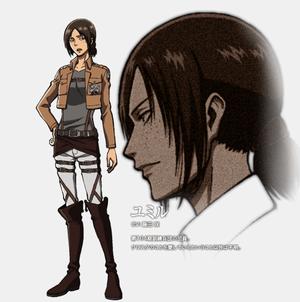 Ymir character 设计