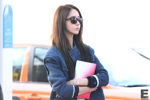 kpop 4ever wallpaper possibly containing sunglasses entitled Yoona the flower