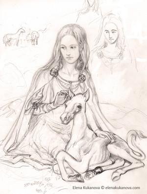Young Eowyn par Elena Kukanova