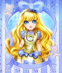 anime ever after high blondie locks