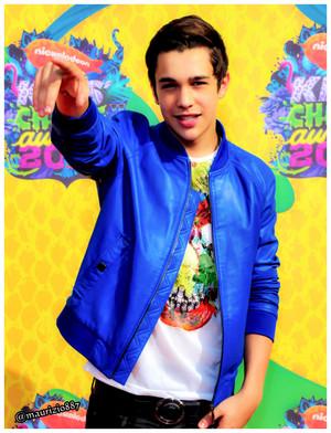 austin mahone Kids' Choice Awards 2014
