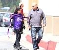 blanket leaving karate <3 - blanket-jackson photo