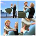 he touched the boob - disney-princess photo