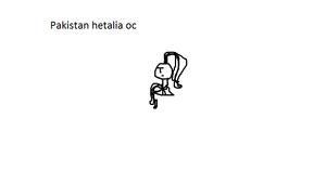 hetalia - axis powers oc Paquistão