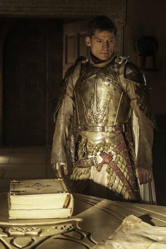 Jaime Lannister fondo de pantalla probably with a breastplate titled Jaime Lannister - Season 4