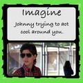 johnny imagine - the-outsiders photo