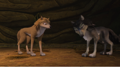 Alpha and Omega 2: a howl-iday adventure Hintergrund called kate and humphery